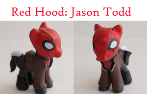 Jason Todd / Red Hood by alltheApples