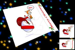 Xmas Greeting Card by Doctormk