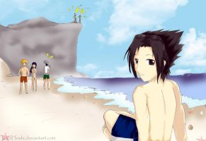 Sasuke's Summer by KiroHoshi