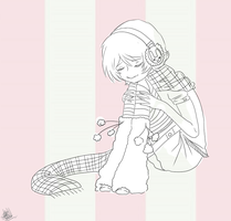Alois Line art: feel free to color and tell me by Yasuwolfie