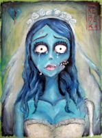 Sad Emily: Corpse Bride by Shinigami-uta