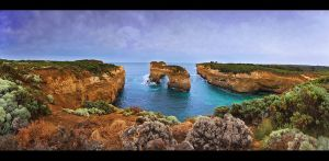 Loch Ard Gorge by CainPascoe