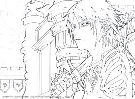Million Shades of Grey LINEART by Overweight-Cat