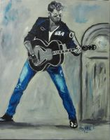 George Michael my painting by cliford417