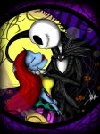 Jack And Sally Kiss by Devil-Virux