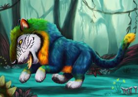 Macawnivore by Greykitty