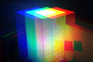 Prismatic Lamp by EndOfGreatness