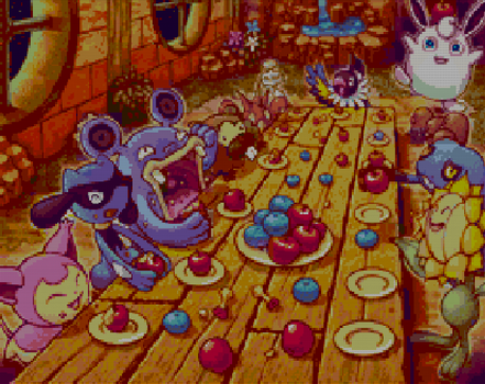Pokemon Mystery Dungeon Explorers of Sky -in Pixel by evangeline-athanasia