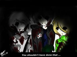 You Shouldn't Have Done That (BenDrownedBrothers) by SunnySunshine203