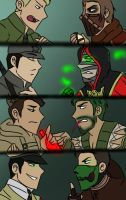 Mkx and CoD - Kotal's Rangers Vs. NZ Crew by O-F-T-E-N
