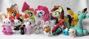 My Amigurumi collection by LeFay00