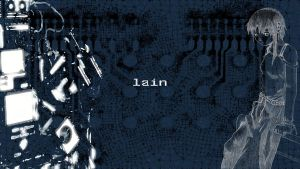 Lain Technolyzed by BlueExcelsior