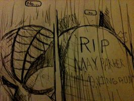 The Death of Aunt May by HamletTheDetective