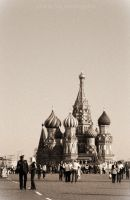 St Basil's Cathedral - retro by smaragdus21