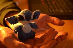 Stich mini crochet by ArtistUnknown