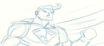 Superman Muro Sketch by nemalki