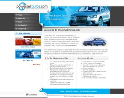 Webinterface for Car Dealer3 by artistsanju