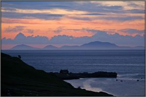 Sunset O'er the Hebrides by Rebacan