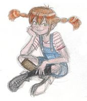 Hey Pippi Longstocking by queenbean3