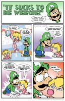 Sucks to be Luigi : Mario Kart by kevinbolk