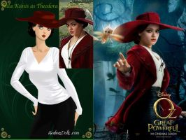 Theodora Oz Great and Powerful Wallpaper by nickelbackloverxoxox