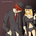 Matt and Misa- Suit up by KatsuyaCrimson