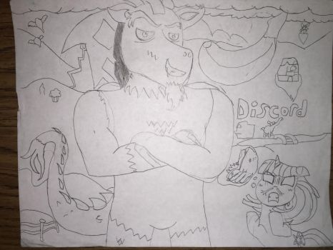My Version of Discord (no color) by Hulk61