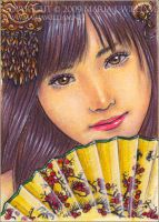 Innocence - ACEO by MJWilliam