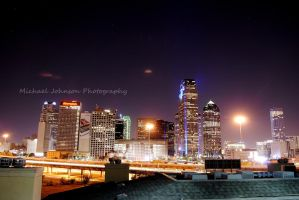 Dallas Skyline by MTJforever