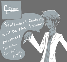 Sept 2010 Contest Announcement by riceballhikaru