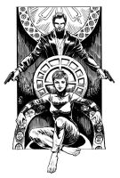 Enthroned by cabepfir