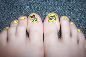 spongebob tootsies by neko-crafts