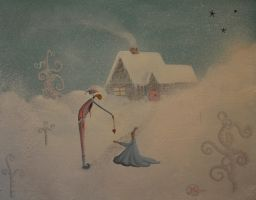 THE GIFT by davegoldartgallery