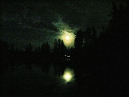 Moonlit Waters by Alonewithmyself