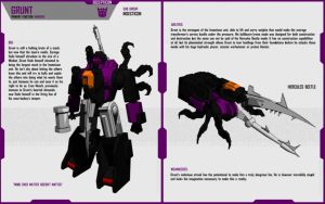 INSECTICON GRUNT by F-for-feasant-design