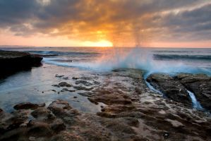 Sunrise at Cronulla 3 by deviantjohnny99