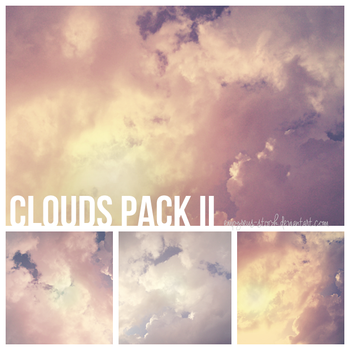 Clouds Pack II by empyreus-stock