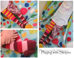 Playing With Stripes by deltay