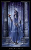 The High Priestess by ThelemaDreamsArt
