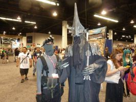 Sam Fisher meets the Witch King from Lord of Angma by W4RH0US3