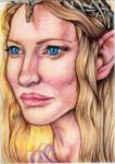 ACEO: Galadriel by LadyMignonette