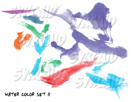 Pay-2-Use WaterColor Brush Set 2 by starluck