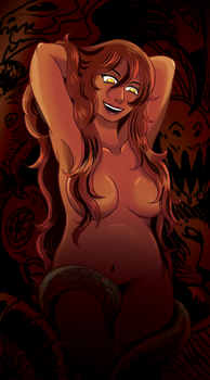 Lilith, mother of demons by Sibauchi