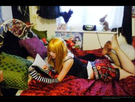 Misa in her room by pommexkiss