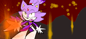 blaze the cat by shadowthehedgehog109