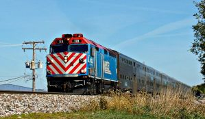 METX 118 Outbound at Roselle by BigBadMatt