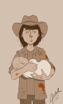 previously on AMCs the Walking Dead by Isnabel