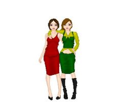 Crissy and I by Evermore-Willow