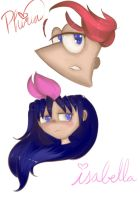 FLOATING HEADS O' COLOR by PhinabellaPhan