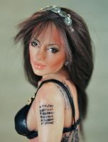 angelina jolie ooak art doll 3 by fairiesndreams